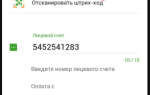 Как оплатить по штрих-коду в сбербанке онлайн через телефон