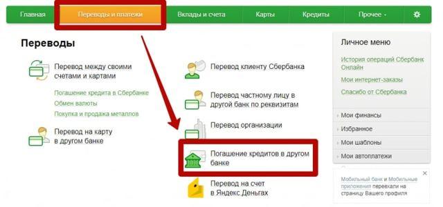 Как оплатить займ Кредит Европа Банка, оплата через Сбербанк Онлайн