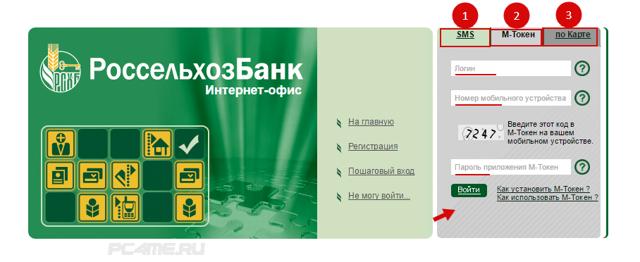 Как зарегистрироваться в РоссельхозБанке Онлайн и войти в личный кабинет