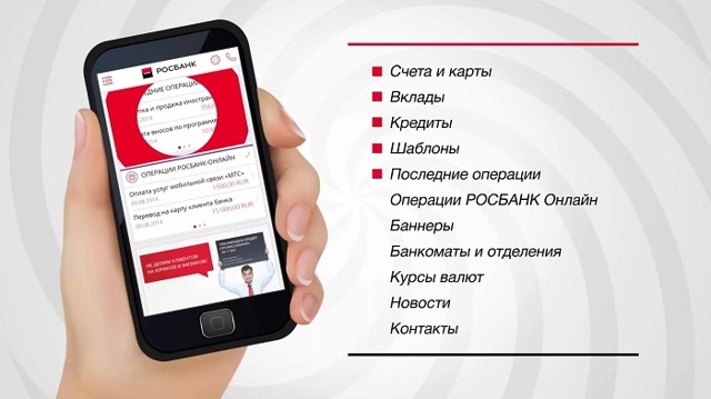 Как подключить «Мобильный банк» и СМС-оповещение Росбанка, отключение