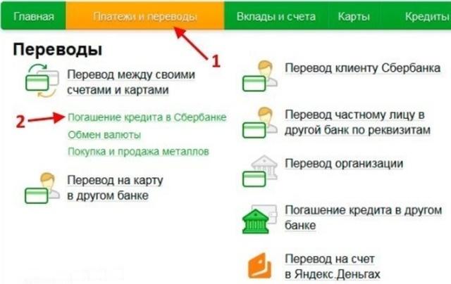 Как посмотреть и распечатать график платежей по кредиту в Сбербанке Онлайн
