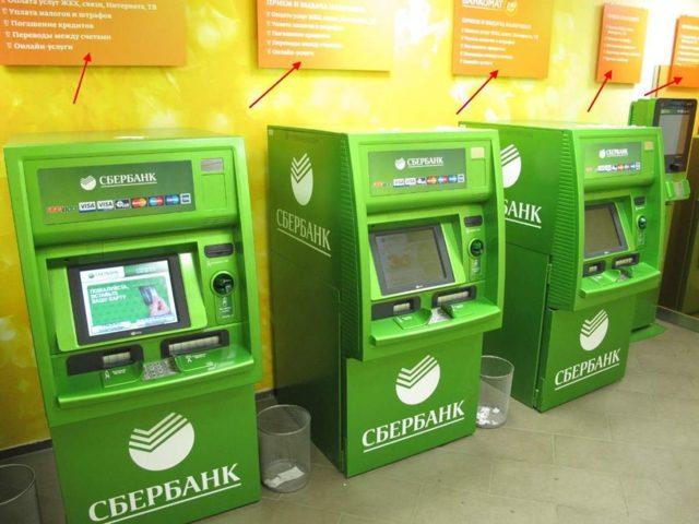 Как через банкомат перевести деньги на карту Сбербанка без карты