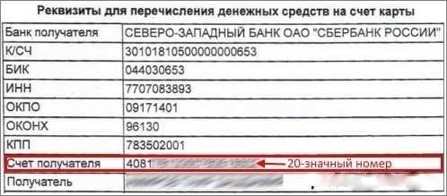 Как узнать номер счета карты Сбербанка через Сбербанк Онлайн