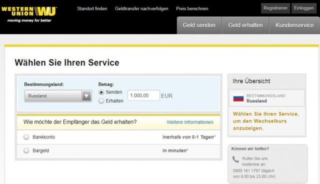 Как перевести деньги из Германии в Россию на карту Сбербанка